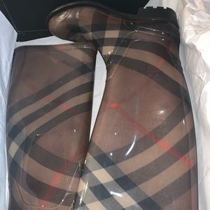 Coverdale Burberry Rain Boots